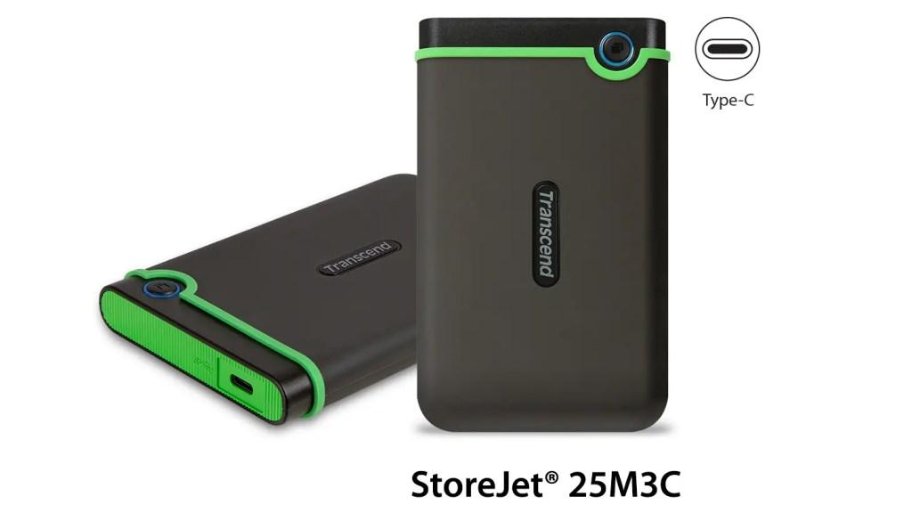 Transcend StoreJet 25M3C USB Type-C (1)