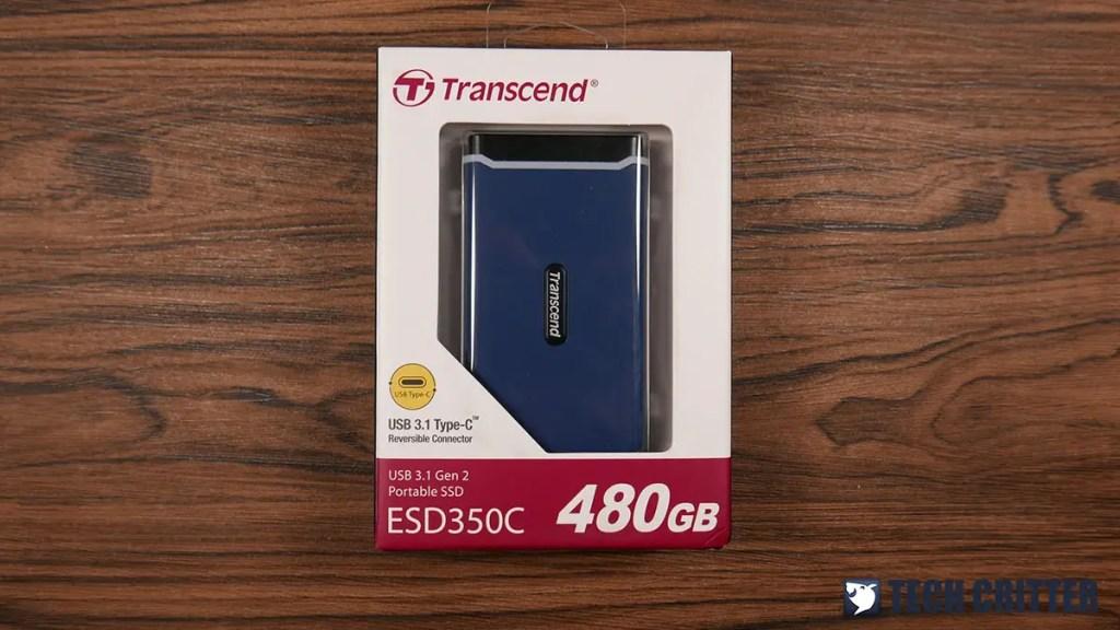 Review - Transcend ESD350C USB 3.1 Gen 2 Portable SSD 480GB 3