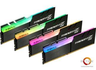 Trident Z RGB DDR4-3466 32GB (4x8GB) Memory Kit for AMD X399 Platform (1)