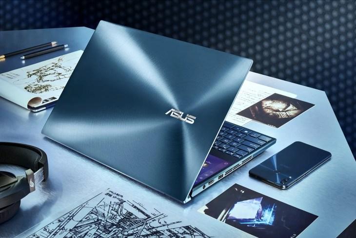 ZenBook Pro Duo UX581_Celestial Blue Design