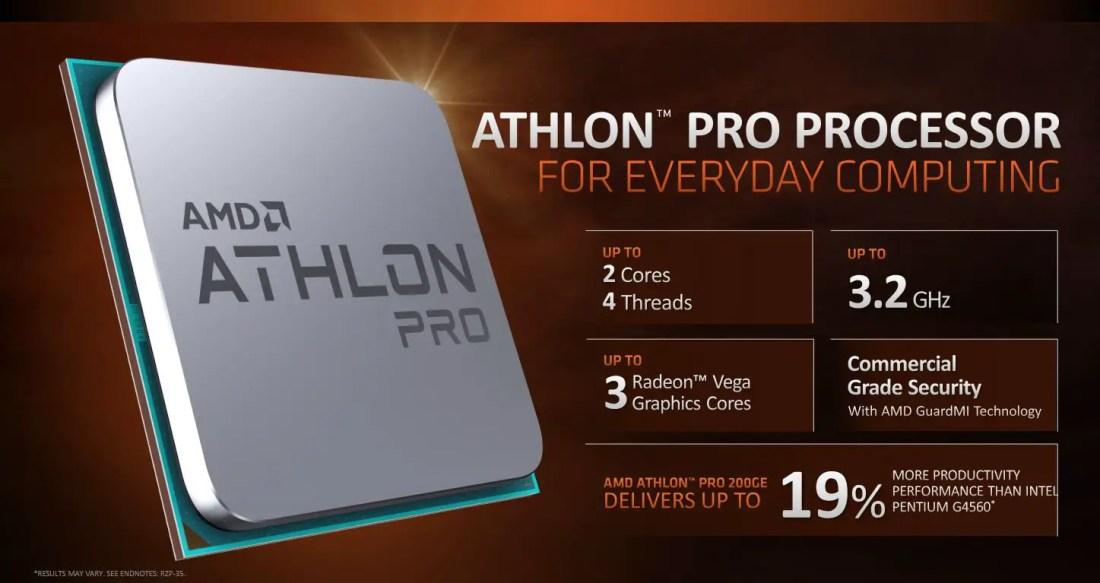 "AMD Announces New Ryzen Pro and ""Zen"" Based Athlon Pro Processors 1"