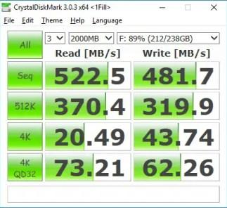 SSD230S CrystalDiskMark