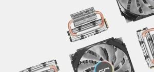 cryorig computex 2018 frostbit M.2 NVMe SSD Cooler c7 rgb low profile cpu cooler