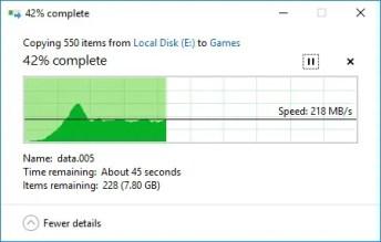 pendrive m.2 ssd copy to hard drive