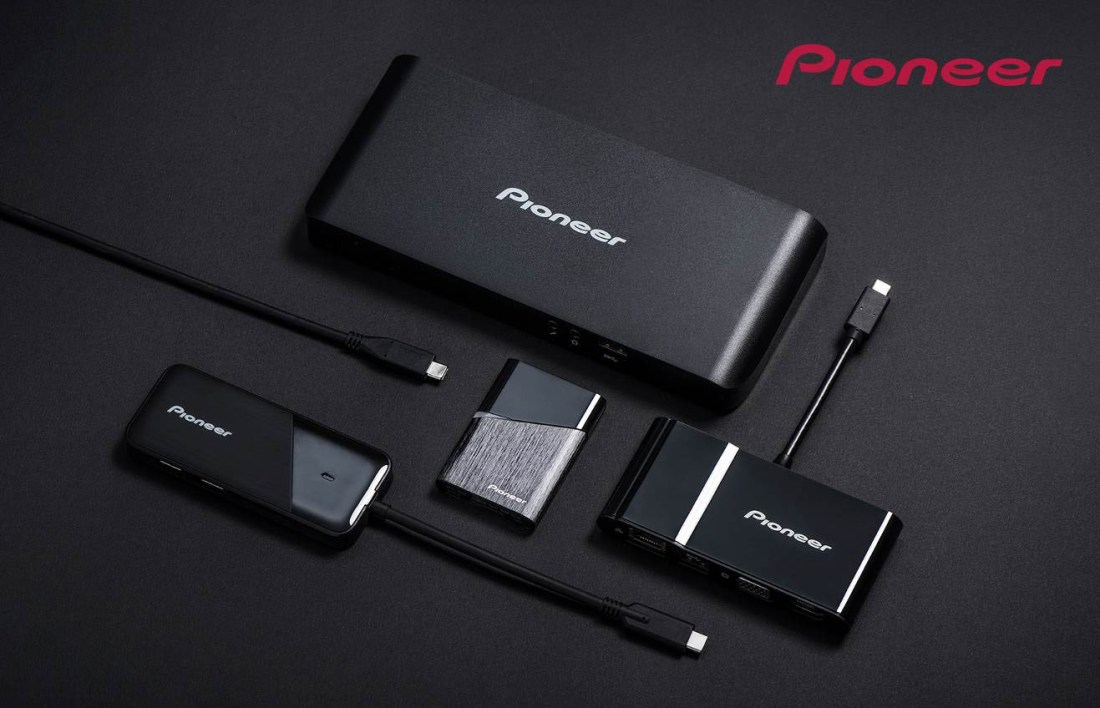 pioneer usb type-c docking station multiport adapter portable ssd