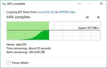 Review - Transcend MTE850 PCIe Gen3 x4 M 2 SSD