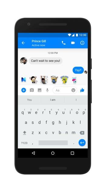 """فيس بوك يضيف المساعد الشخصي الرقمي """"M"""" في تطبيق ماسنجر"""