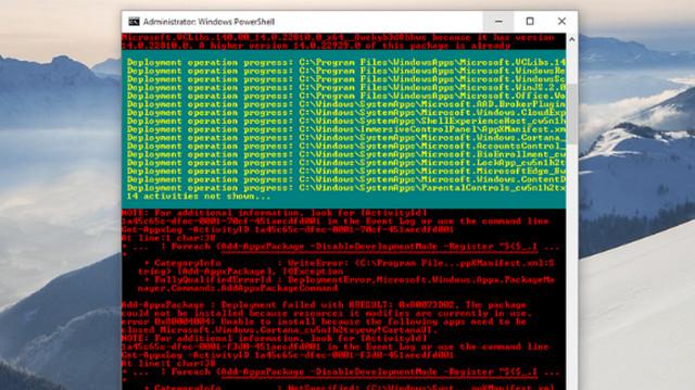 إصلاح مشكلة قائمة ابدأ لا تعمل في ويندوز 10