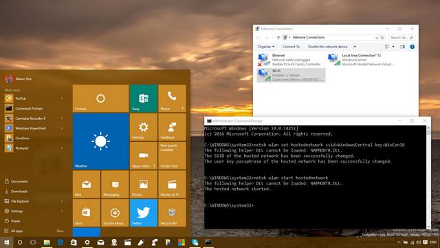 أفضل 3 أدوات لتحويل جهاز كمبيوتر ويندوز 10 إلى نقطة اتصال واي فاي