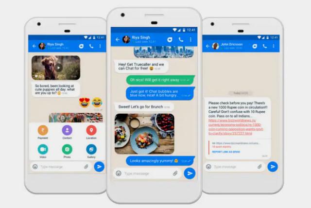 تروكولر يطلق خدمة دردشة جديدة لمنافسة تطبيق الواتساب