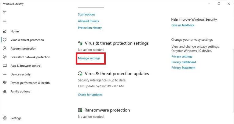 تعرف علي خاصية الحماية ضد العبث في ويندوز 10 وكيفية تفعيلها
