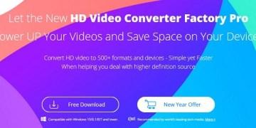 مراجعة برنامج تحويل الفيديوهات WonderFox HD Video Converter Factory Pro