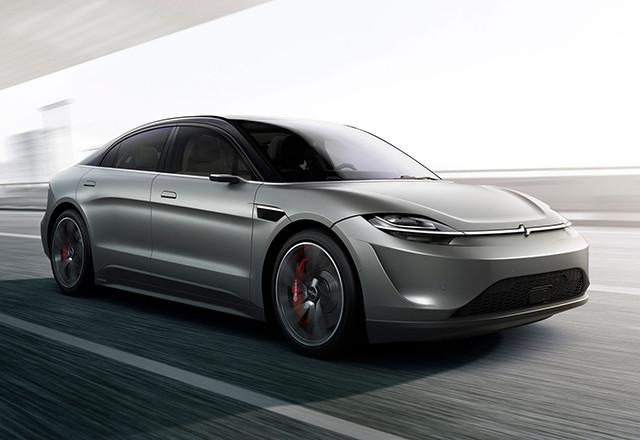Sony je iznenadio sve sa električnim koncept automobilom Vision-S
