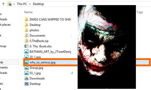 image file will still open
