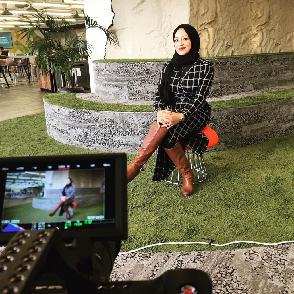 Muslim women in tech: profile picture of marwa adawy