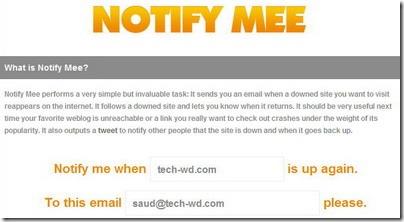 notifymee