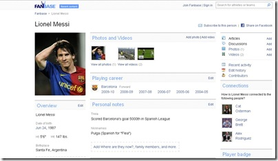 fanbase-player-page