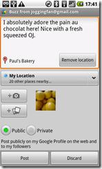 buzz widget_compose
