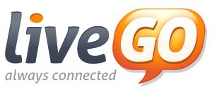 liveGO white 72dpi 300px LiveGO يدعم الفيس بوك وقوقل بلس وتويتر