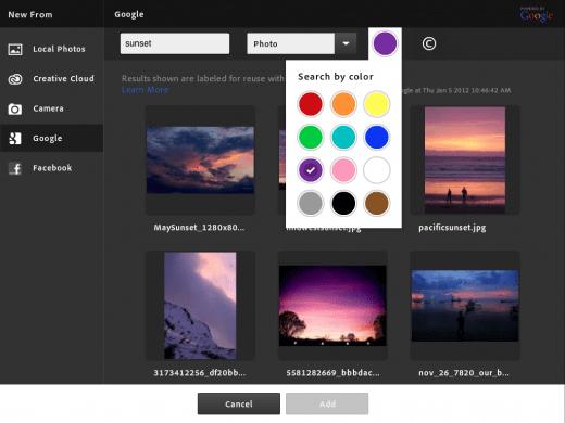 ios pstouch screenshot 061 520x390 أدوبي تطلق تطبيق Photoshop Touch لجهاز الايباد 2
