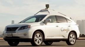self driving car google logo سيارة جوجل الذاتية قطعت 300 ألف ميل من غير التسبب في أي حادث سير