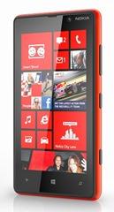 Nokia Lumia 820 - Red