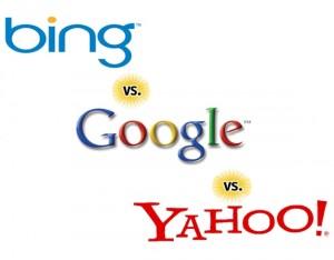 جوجل ضد ياهو ضد بينج