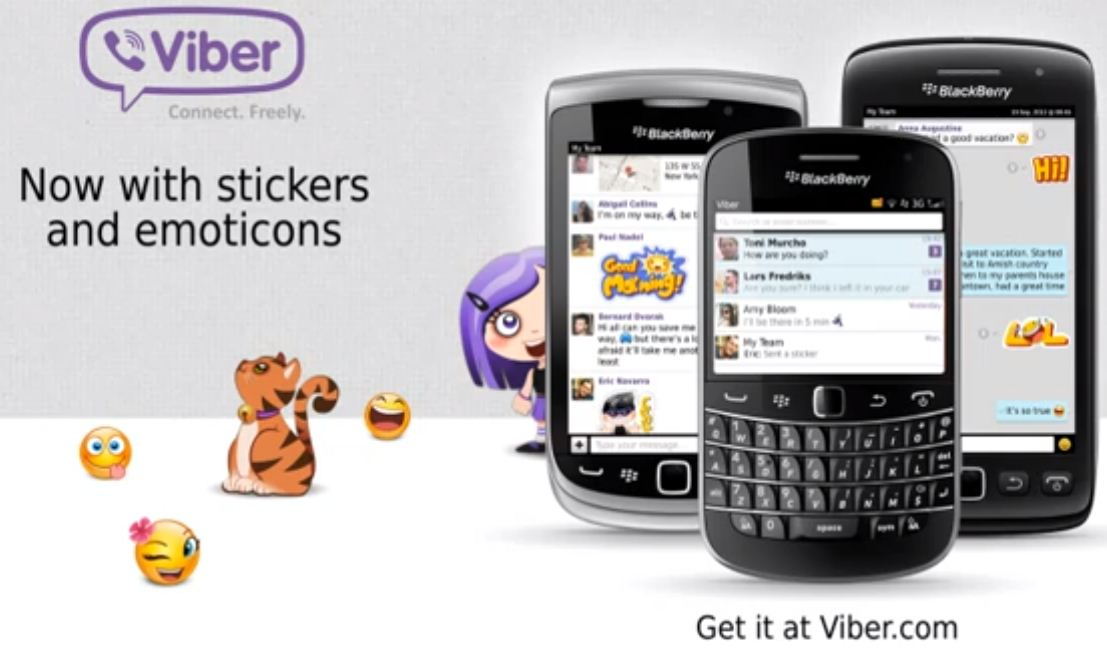 viber black berry 10 فايبر قادم لهواتف بلاك بيري 10