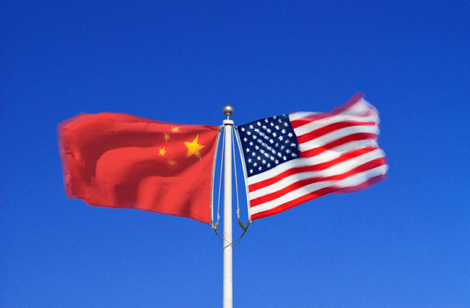 china america flag