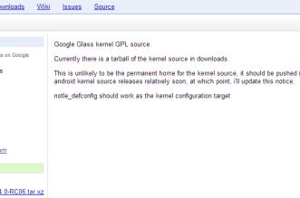 Glass source code