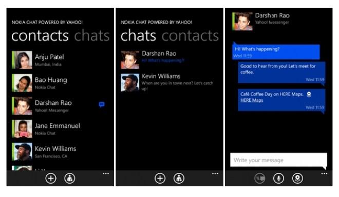 تطبيق نوكيا تشات: حصرياً على هواتف لوميا