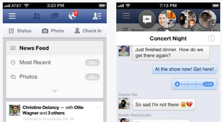 تحميل تطبيق Lite Messenger for Facebook مجانا