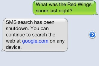 Google-SMS-Search