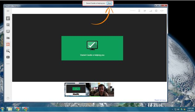 hangout remote desktop