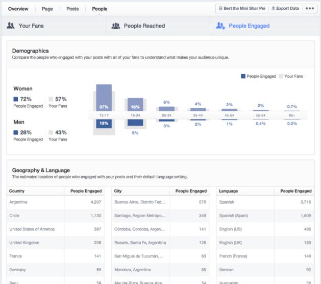 facebook insight