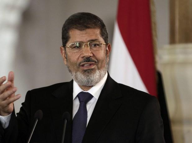 الرئيس محمد مرسي رئيس مصر السابق