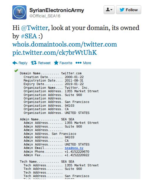 sea twitter domain
