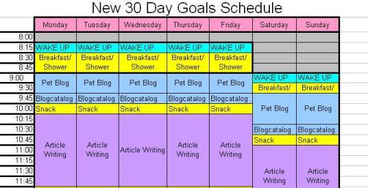 30-day-schedule