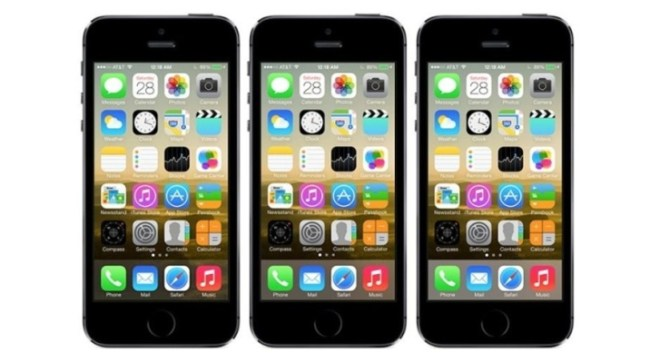 آيفون iOS 7