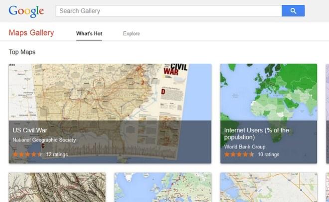 Google Maps Gallery