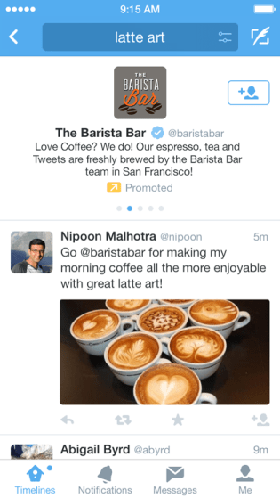Introducing Promoted Accounts in search