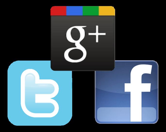 google-twitter-facebook