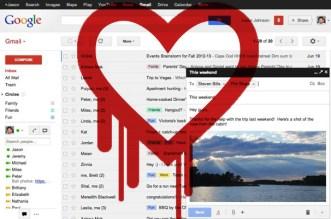 gmail HEARTBLEED