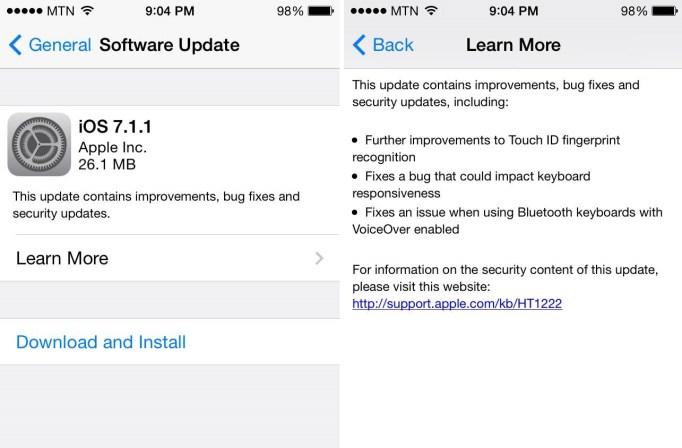 iOS 711