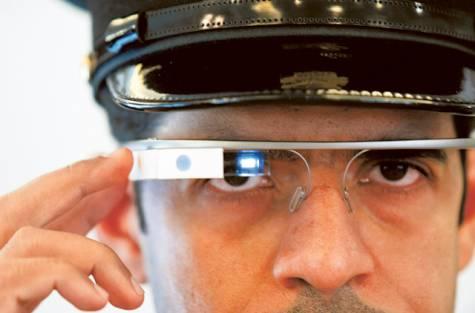 google glass police