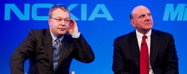 Elop Ballmer 610x243 وزير المالية الفنلندي يتهم مايكروسوفت بالخيانة