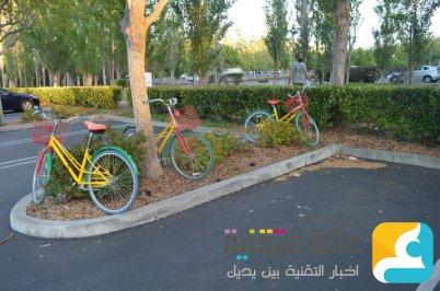 دراجات جوجل للتنقل داخل وخارج الشركة