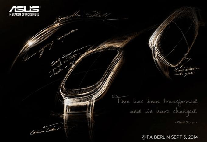 Asus Android Wear curved smartwatch IFA 2014 02 أسوس تنشر أول إعلان تشويقي لساعتها الذكية بشاشة منحنية