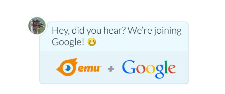 Emu google قوقل تستحوذ على خدمة الذكاء الصنعي في المحادثات Emu