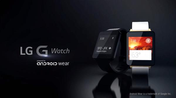 LG G Watch product video إل جي تعتزم الكشف عن ساعة جي ووتش 2 في معرض IFA 2014
